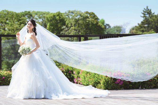 テラス 花嫁