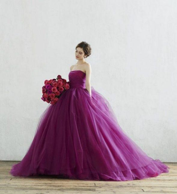 ハツコエンドウウェディングス カラードレス