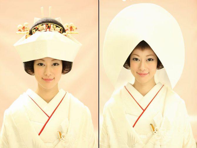 角隠しと綿帽子の違いをご紹介