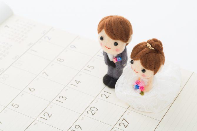 結婚記念日 入籍日
