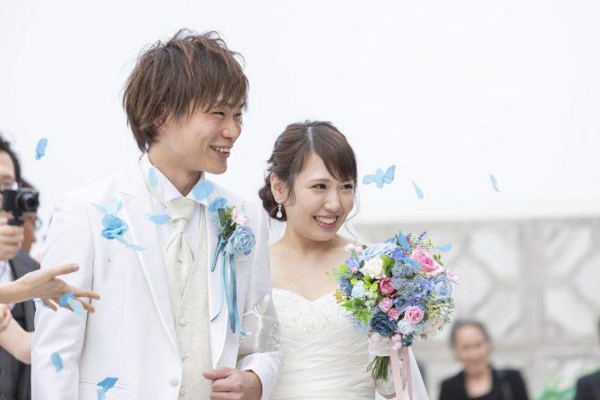 結婚式 演出 フラワーシャワー