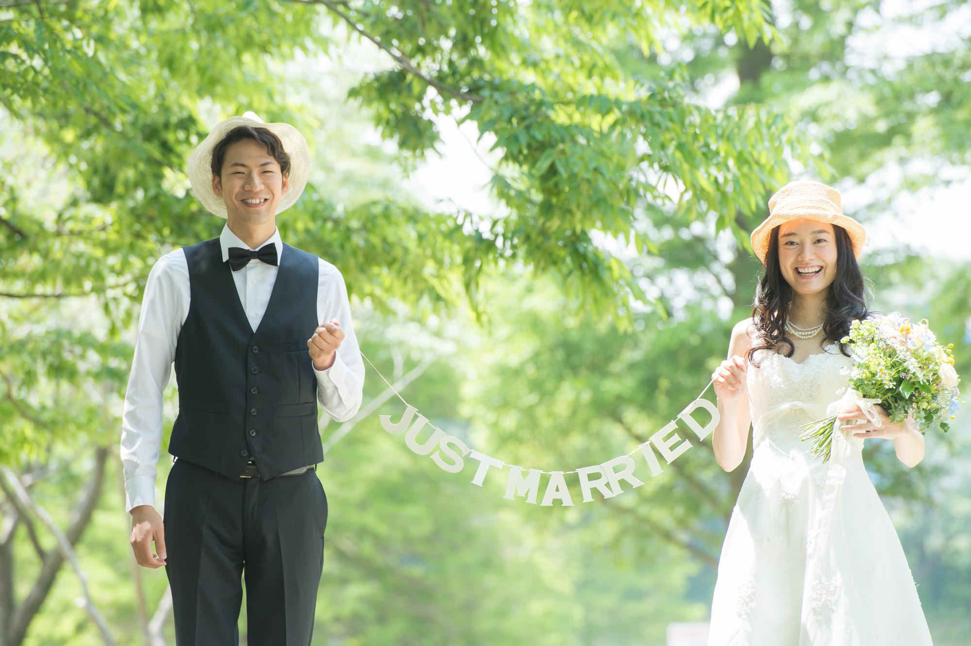 密をさける新しい結婚式 ウエディング