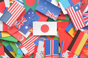 世界の国旗 国際結婚